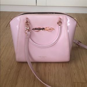 Ted Baker Bags - Ted Baker Lailey Pink Bag with Bow